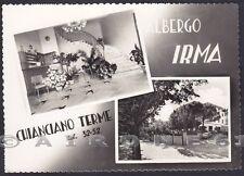 SIENA CHIANCIANO TERME 53 HOTEL ALBERGO - VEDUTINE Cartolina FOTOGRAFICA