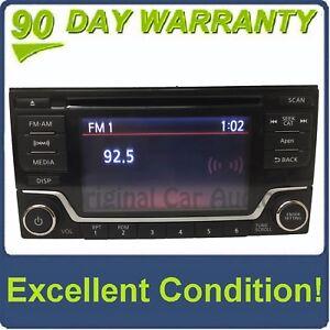 2014 - 2017 Nissan Frontier Sentra OEM MP3 Bluetooth SAT RDS Radio
