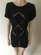 H S Fashion Jumper made in Italy Black Size M / One Size