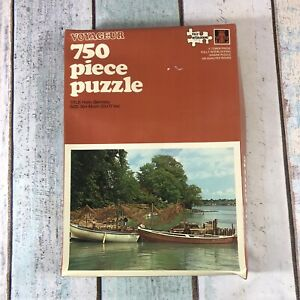 Tower Press Holm Germany Voyageur 750 piece vintage Jigsaw Puzzle Unchecked