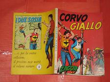 ZAGOR- NO ZENITH- N°4 -c-originale DA LIRE 200 -1970 **NOME ROSSO-GALLIENO FERRI