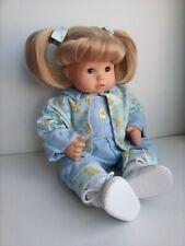 Gotz Puppenfabrik 16 inch, Blond Hair, Blue eyes