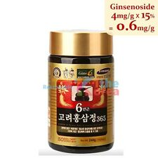 Korean Red Ginseng Extract 365 240g 8.5oz Stamina Immune Sex Drive Booster