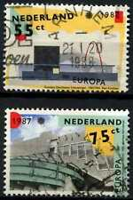 Netherlands 1987 SG#1506-7 Europa, Architecture Used Set #D77005