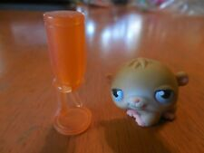 Littlest Pet Shop # 45 Baby Hamster with Water Bottle