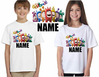 PERSONALISED ODDBODS TOYS T-SHIRTS, ADD YOUR NAME BOYS GIRLS KIDS TEE TOP