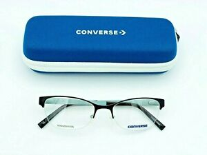 NEW CONVERSE A059 BROWN WOMEN EYEGLASSES FRAME 50-18-135 W/CASE AUTHENTIC