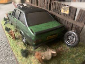 ford escort mk2 Dumped Model