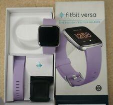 Fitbit Versa Lite Edition Activity Tracker - Lilac/Silver Aluminum