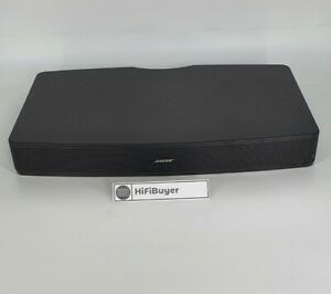 BOSE Solo TV Sound Speaker System TV Base Black FAULTY / SPARES