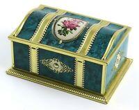 Vintage Western Germany Tin Candy Box - James P. Linette Inc. Chocolates