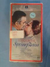 Rare VHS A WALK IN THE SPRING RAIN - UNCUT 98 MIN Ingrid Bergman Anthony Quinn