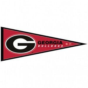 """WinCraft NCAA Georgia Bulldogs Carded Classic Felt Pennant, 12"""" x 30"""