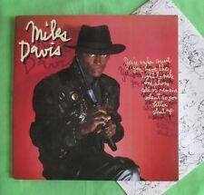 Miles Davis Lp - You're Under Arrest , orig Australian CBS pressing