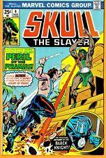 Skull The Slayer/Marvel Comic Book-#4(Bronze)/1976