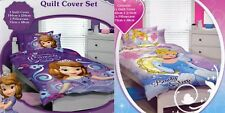 2 x Girls Kids DISNEY PRINCESS SINGLE Duvet/Doona/Quilt Cover Sets BNIP