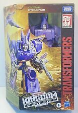 IN HANDS!!Transformers Kingdom War For Cybertron Voyager Class Cyclonus SHIP NOW