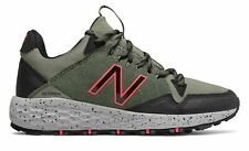 New Balance Women's Fresh Foam Crag Trail Shoes Green with Black & Pink