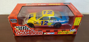 Signed Derrike Cope 1996 Mane' N Tail #12 Racing Champions  1:24 Diecast