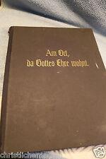 Die Bibel - Am Ort, wo Gottes Ehre wohnt! Kirchengemälde Rudolf Schäfer. 1925