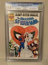 Amazing Spider-Man Annual #21 CGC 8.5 Special Wedding Issue Mary Jane