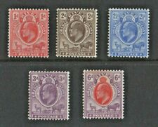 1903/1904 ORANGE RIVER COLONY FOUR STAMPS SG 140,141,142,143,145,  MINT HINGE