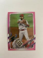 2021 Topps Chrome Anthony Rendon Pink Refractor #58 - Los Angeles Angels