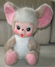 "Vintage 15"" Rushton Rubber Face Stuffed Animal Mouse Toy"