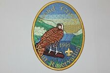 Vintage Stunning - 1995 Broad Creek Back Patch Baltimore Area Council OA Nentico