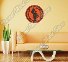 "Dirt Bike Motocross Motorsport Racing Wall Sticker Room Interior Decor 22""X22"""