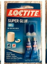 60 Tubes Loctite Super Glue No Mess Gel 4g Wood Rubber Plastic Metal 1399965