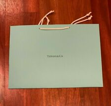 Tiffany Blue gift bag with small blank gift card - medium size - NEW - LQQK!