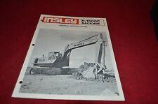 Insley H-1500C Hydraulic Excavator Dealer's Brochure DCPA4 ver4