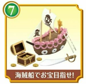 Re-ment Dollhouse Miniature Toy Fairy Tale Sweets - No. 7 Pirate Ship
