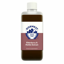 Dorwest Elderberry & Nettle Extract for Dogs and Cats - 250ml