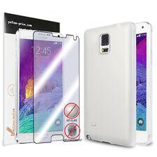 Samsung Galaxy Note 4 Matte Back Cover Shock-Proof & Anti-Scratch TPU Case+Film
