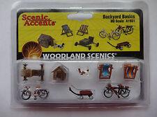 Woodland Scenics Ho #1931 Backyard Basics