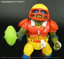 T.D. Tossin Leo Teenage Mutant Ninja Turtles 100%complete Tmnt 1991 vtg Leonardo