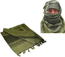 Olive Drab Shemagh Tactical Desert Keffiyeh Arab Heavyweight Scarf