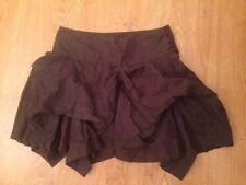 Allsaints Funky Skirt - Size Uk6 - Grey/Blue - Amazing Condition