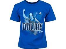 Dirk Nowitzki Dallas Mavericks t-shirt NBA NWT MAVS Adidas new with tags Germany