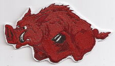 ARKANSAS RAZORBACK Hog Patch 100% Embroidered