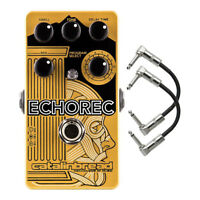 Catalinbread Echorec Multi Tap Echo Guitar Effects FX Pedal & Patch Cables