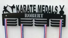 Personalised 3Tier KARATE Medal Hanger, Holder, Strong 5mm Acrylic