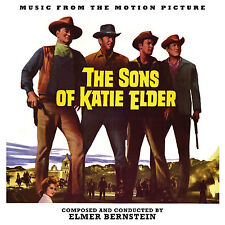 SONS OF KATIE ELDER Elmer Bernstein CD La-La Land LTD ED Soundtrack SCORE New!