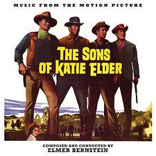 SONS OF KATIE ELDER Elmer Bernstein CD La-La Land LTD ED Soundtrack Score NEW!
