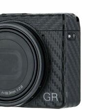 JJC KS-GR3CF Carbon Fiber Anti-Scratch Camera Skin Cover Film for Ricoh GR III