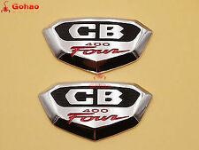 Pair CB400F CB 400 Four CB400 F Decal Badge Side Cover L/R for Honda Super Sport