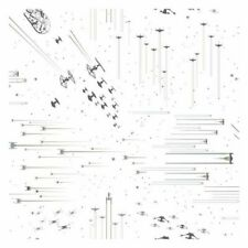 York DI0952 Wallpaper Star Wars: Galactic Battles Unpasted Neutral Wallcoverings