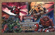 YU-GI-OH! World CHAMPIONSHIP creazione qualificatori 2012 Dragon DUEL Playmat-Inzektor
